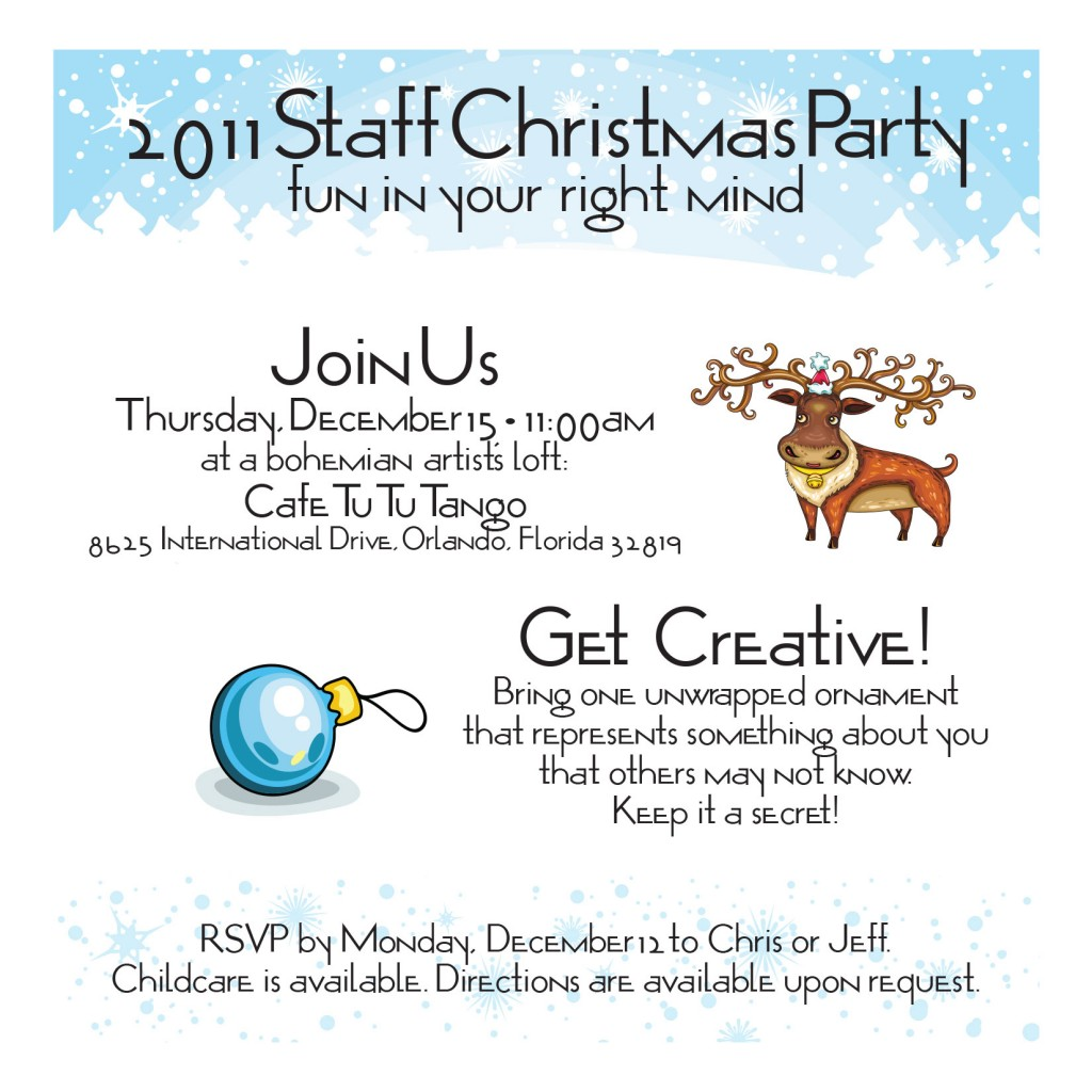 Company Holiday Party Invitation is great invitation template